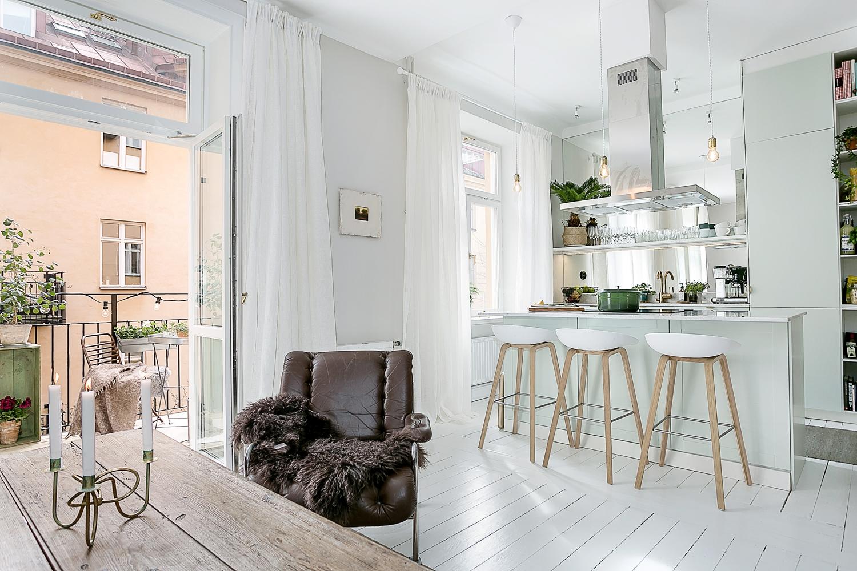 Detaljerna som skapar ett hem daniella dansson metro mode - Open keuken naar woonkamer kleine ruimte ...