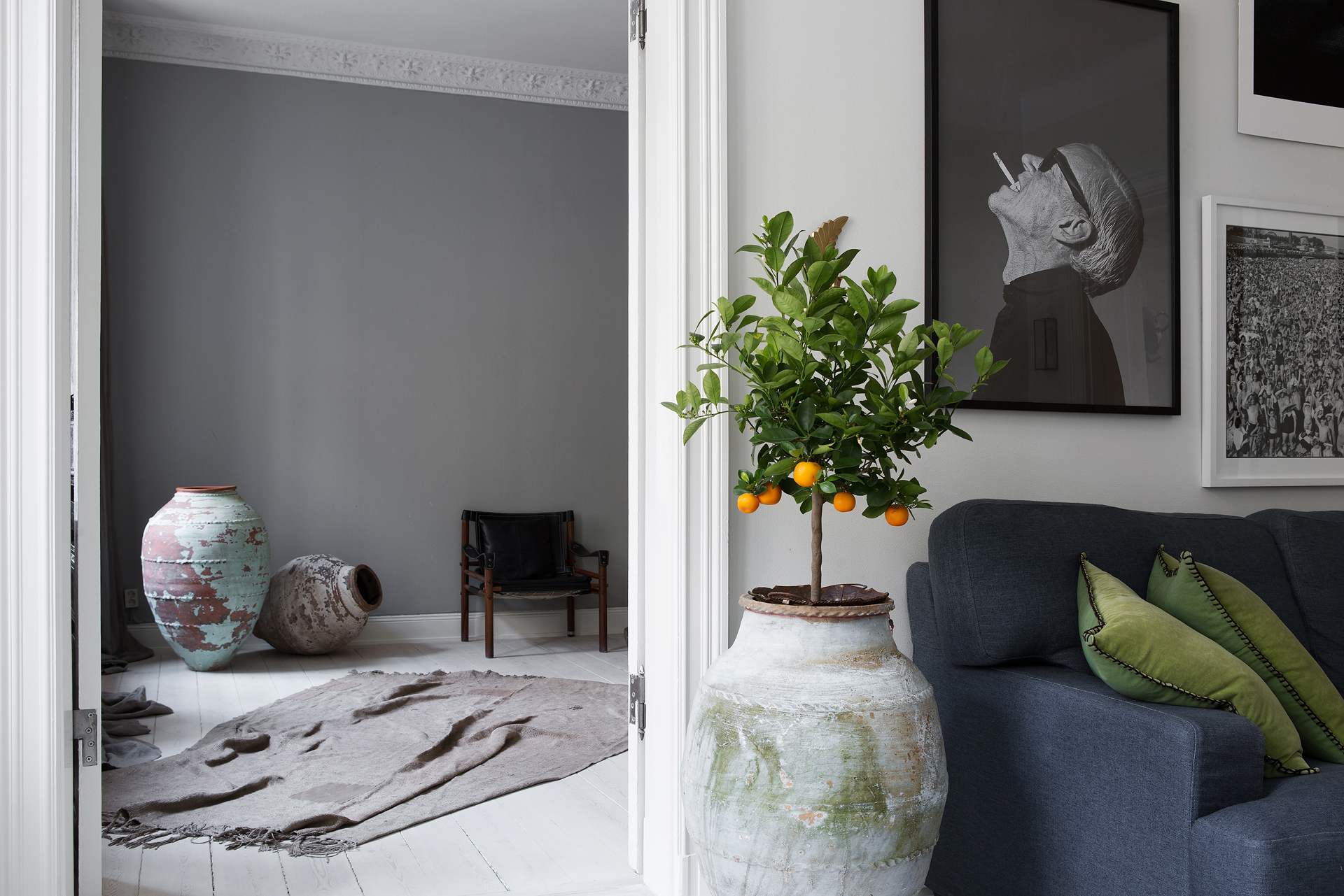 Цветы в скандинавском стиле фото