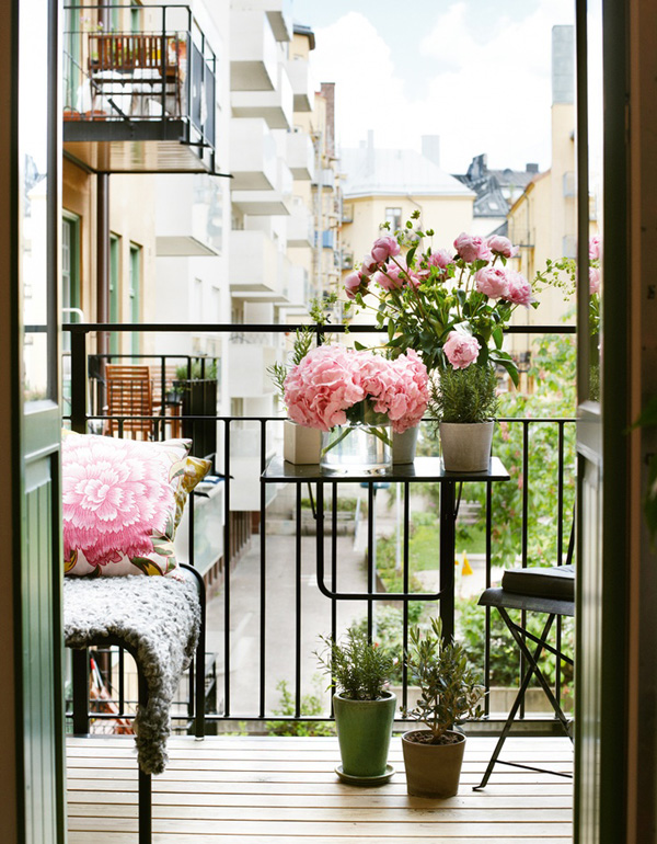 Inred din balkong inspiration tips daniella dansson for Balcons et terrasses de paris